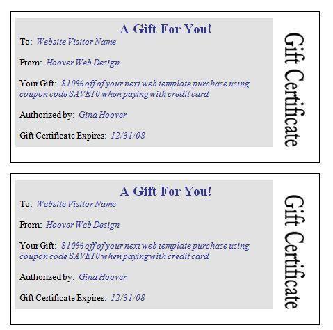 25+ best Gift certificate template word ideas on Pinterest   Free ...