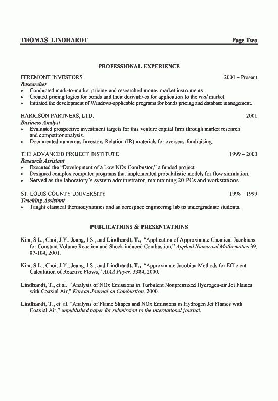 Download Aeronautical Engineer Sample Resume ...