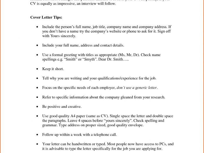 Cover Letter Greeting - CV Resume Ideas