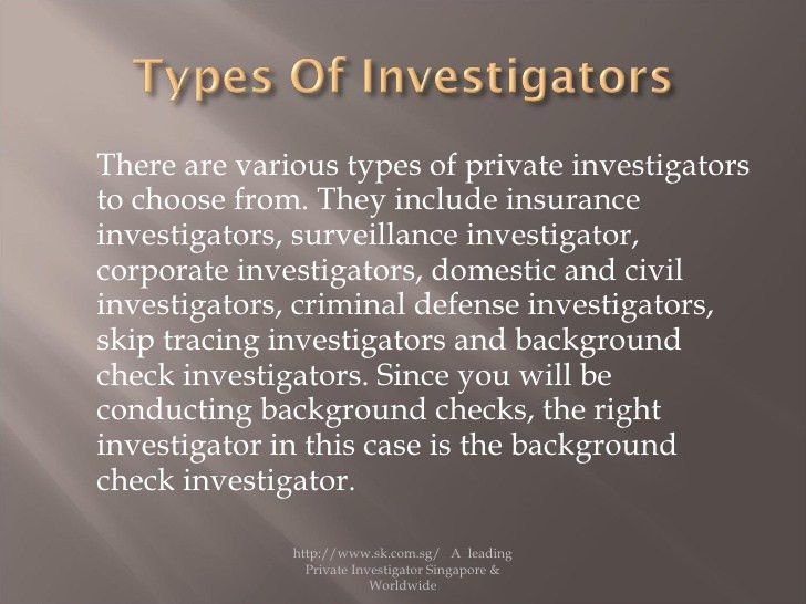Tips and tricks by a leading private investigator in singapore on emp…