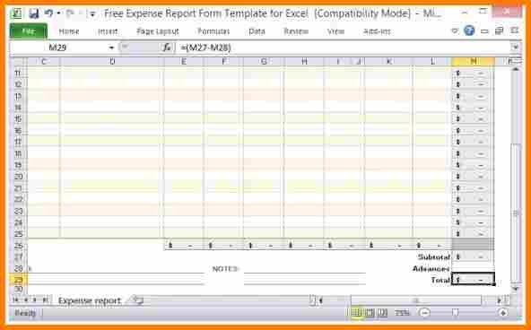 10+ expense report excel | resume reference