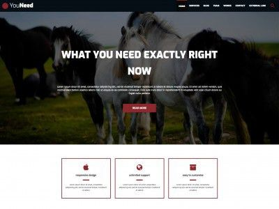 Free web templates, HTML5 and CSS layouts - Just Free Templates