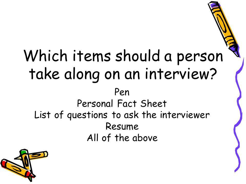 The Job Interview Process Chapter ppt download