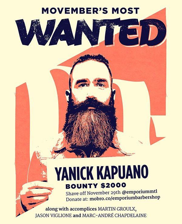 19+ Movember Poster Designs   Free & Premium Templates