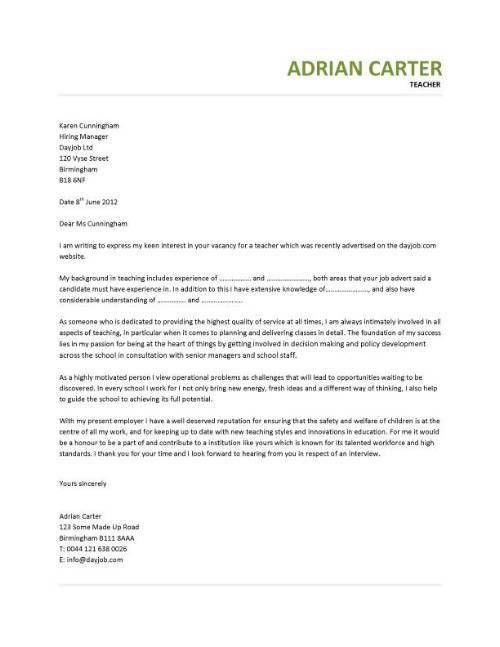 cover letter art teacher resume cv cover letter. teaching cv ...