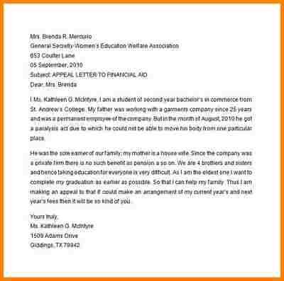 12+ appeal letter example | quote templates