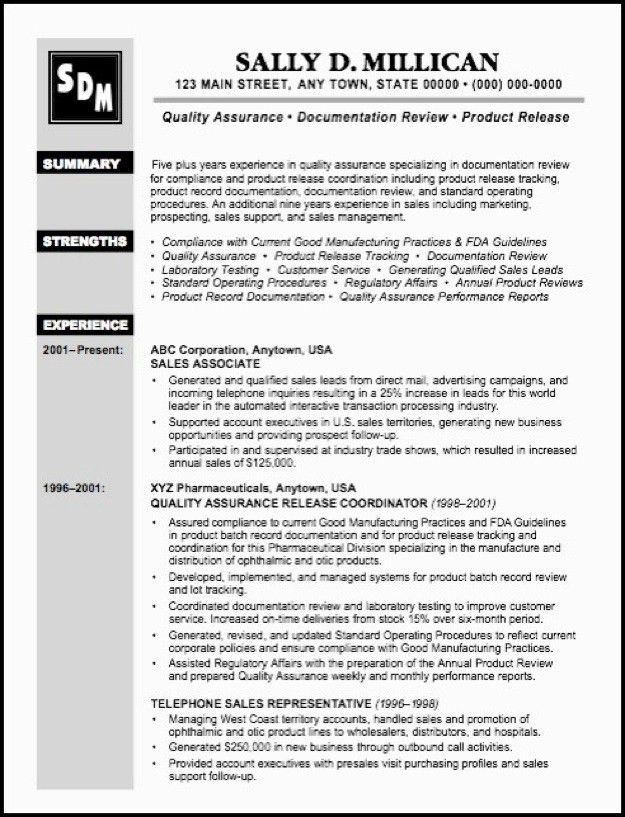 qa sample resumes unforgettable quality assurance resume examples