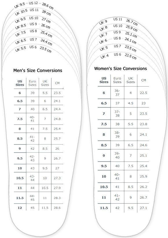 Best 10+ Shoe size conversion ideas on Pinterest | Shoe size chart ...