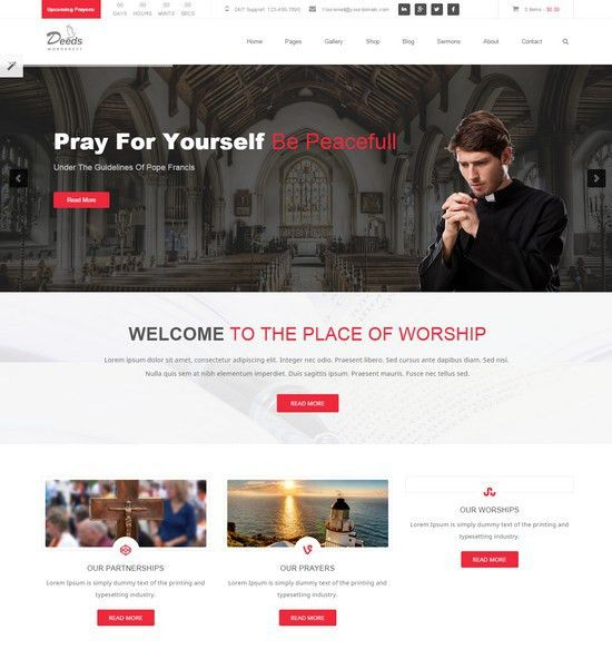 22+ Best Church & Charity Html5 Website Templates - Web Creative All