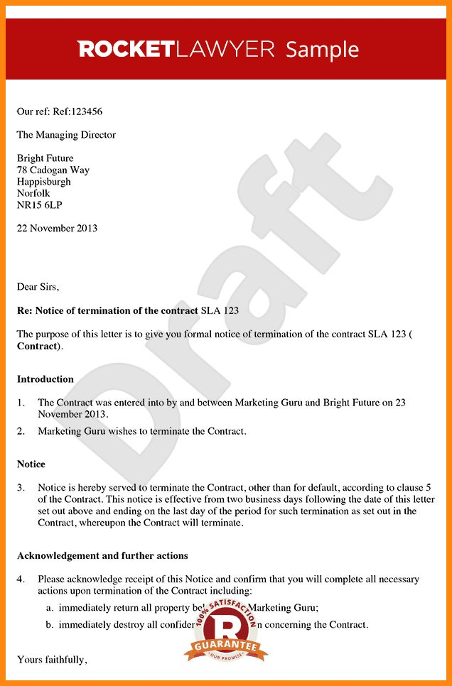 9+ contract termination letter template | driver-resume