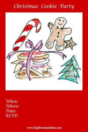 Free Printable Christmas Flyer Templates