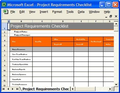 Project Plan Templates, Requirements Checklist   How to crea…   Flickr