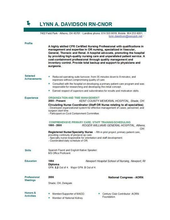 nursing student resume templates example student nurse resume