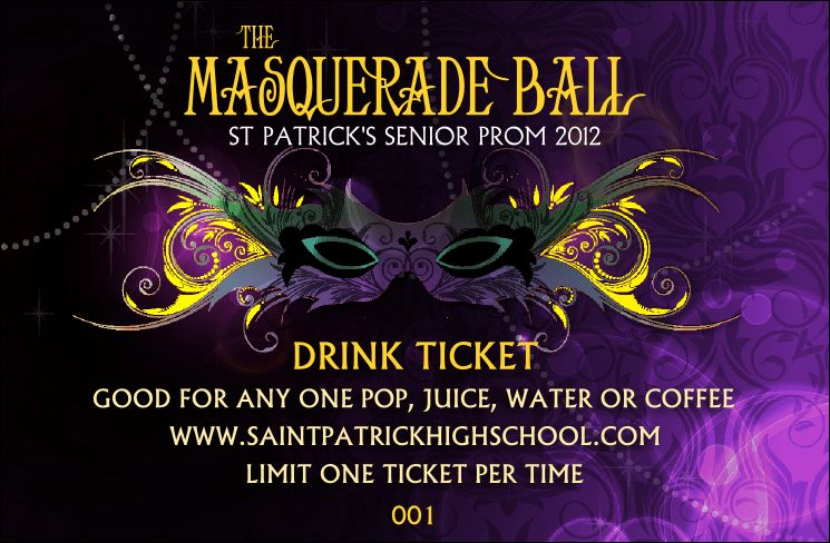 Ball Drink Ticket