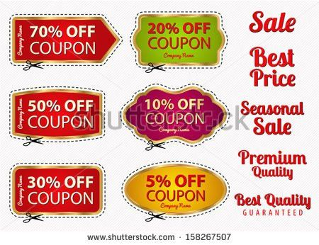 Coupon Border Stock Images, Royalty-Free Images & Vectors ...