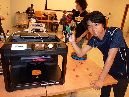 Kids build rockets, print toys at Brooklyn Public Library's Summer ...