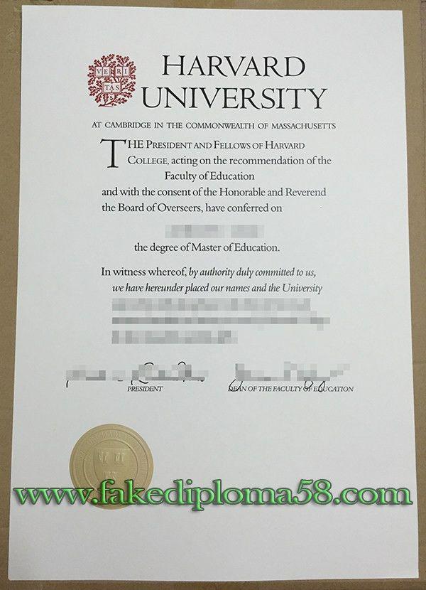 I want to buy a master degree from Harvard university_fakediploma58