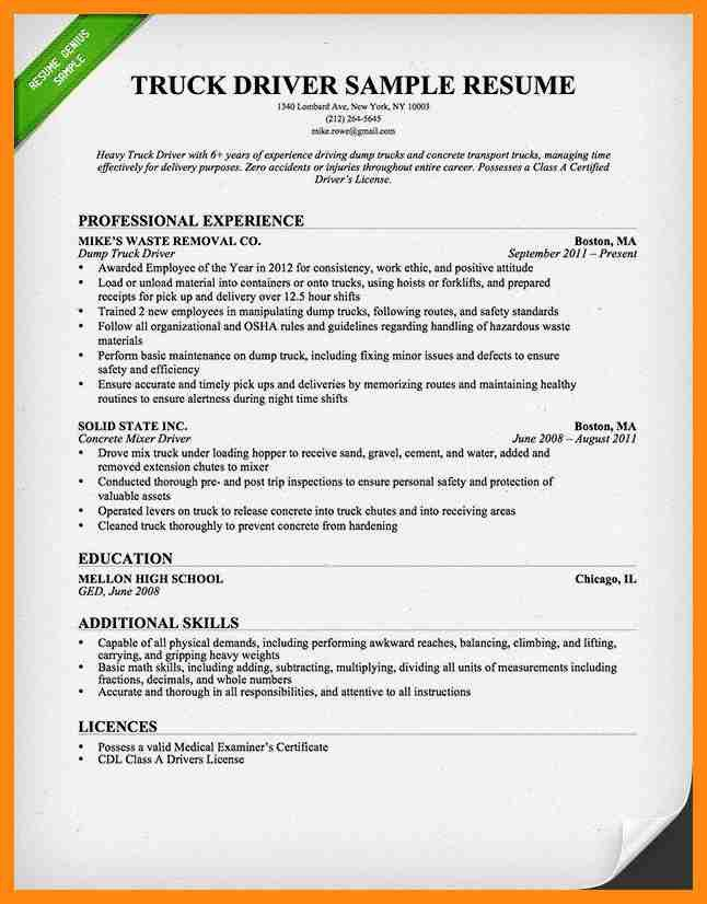 Cab Driver Job Description For Resume - Contegri.com