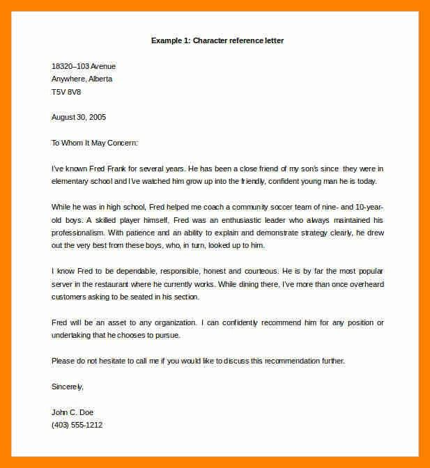 4+ reference letter sample | resumes great