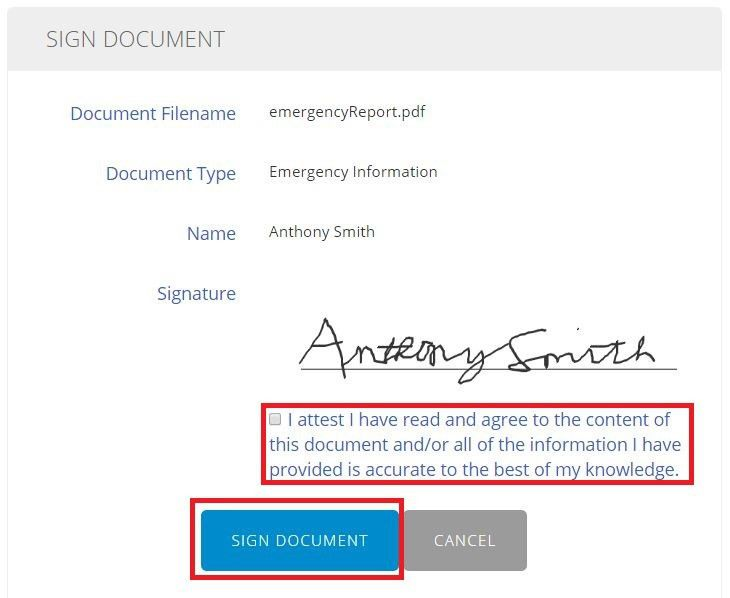 Signing Forms With Parent/Guardian E-Signature – Help Center