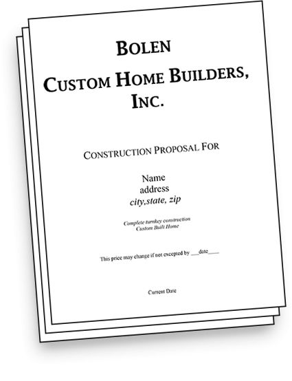 Home Construction Sample Building Contract