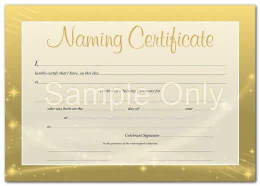 Amazing Naming Certificates Free Templates Photos - Best Resume ...