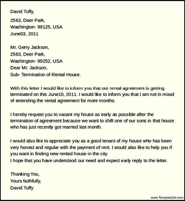 details. house rental agreement letter. rental agreement letter ...