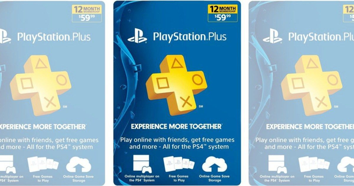 1 Year Playstation Plus PSN Membership Card Only $47.19 Shipped ...