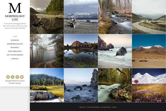60+ Best Free Photography WordPress Themes 2017 - freshDesignweb