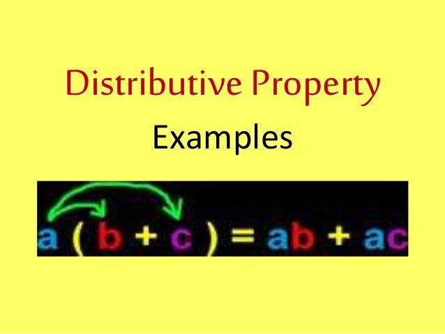 Best 25+ Example of distributive property ideas on Pinterest ...