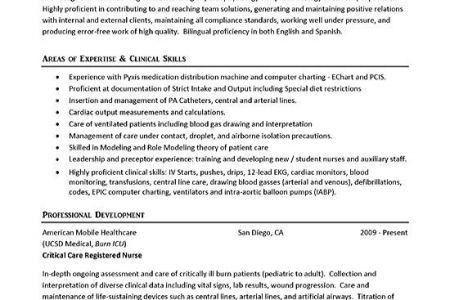 ER Registered Nurse Resume Examples - Reentrycorps