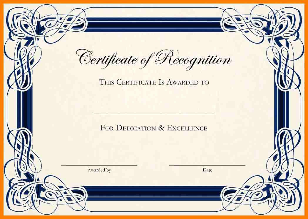 10+ certificate of appreciation template word doc | joblettered