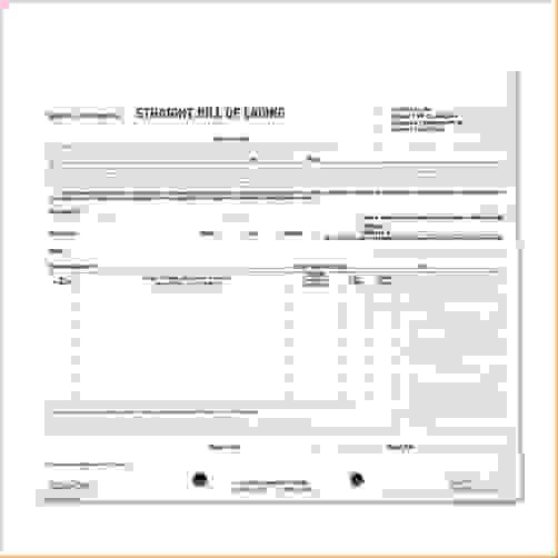 2+ bill of lading short formReport Template Document | report template