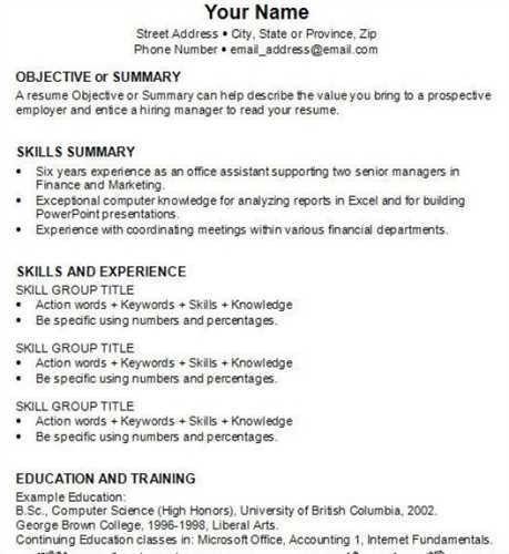 """How To <a href=""""http://cv.tcdhalls.com/write-a-resume.html"""">Write ..."""