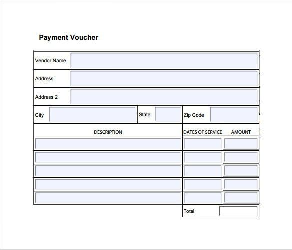 Sample Payment Voucher Template - 9+ Documents in PDF , PSD , Vector