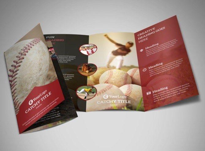 Baseball Camp Flyer Template   MyCreativeShop