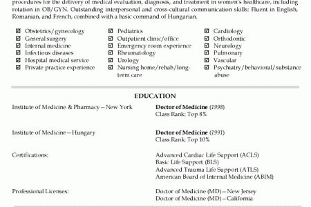 Physician Recruiter Resume Sample - Reentrycorps