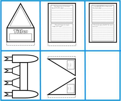 Rocket Book Report Project: templates, worksheets, grading rubric ...