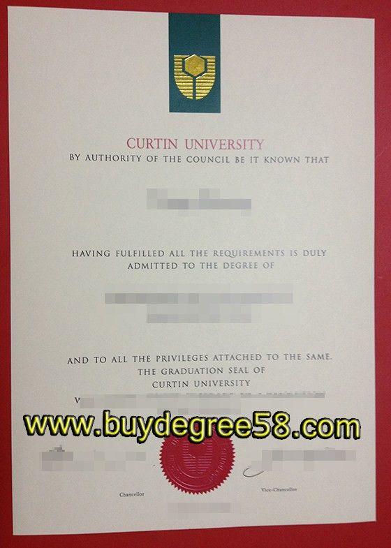 Buy fake Curtin University degree, buy Curtin University ...