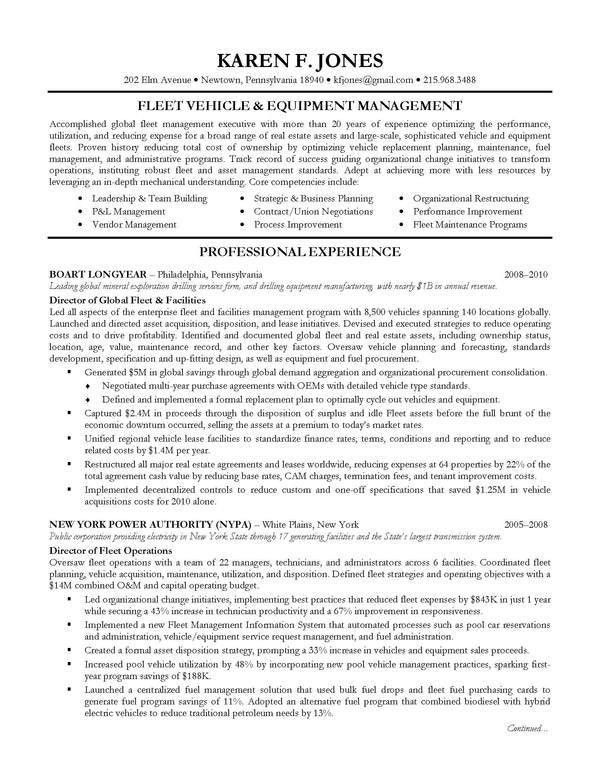 Executive Resume Templates. Executive Resume Templates | Health ...