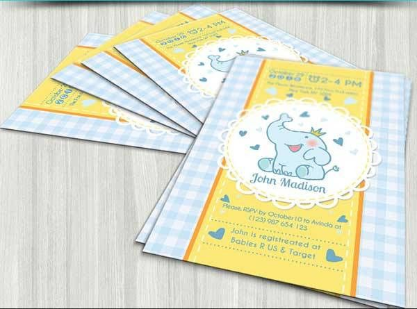 34+ Best Free Printable Baby Shower Invitation Templates Download