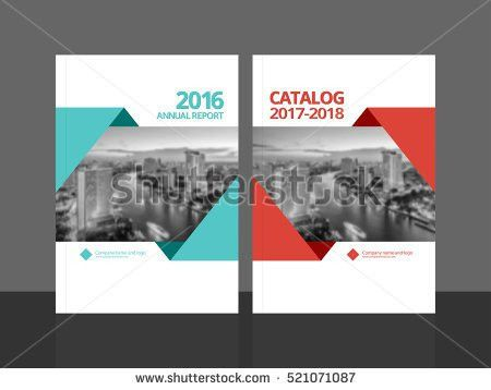 Cover Design Annual Report Business Catalog Stock Vector 525359629 ...