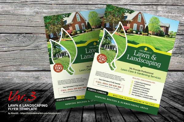 15+ Landscaping Flyers - Free PSD, AI, EPS Document Download ...