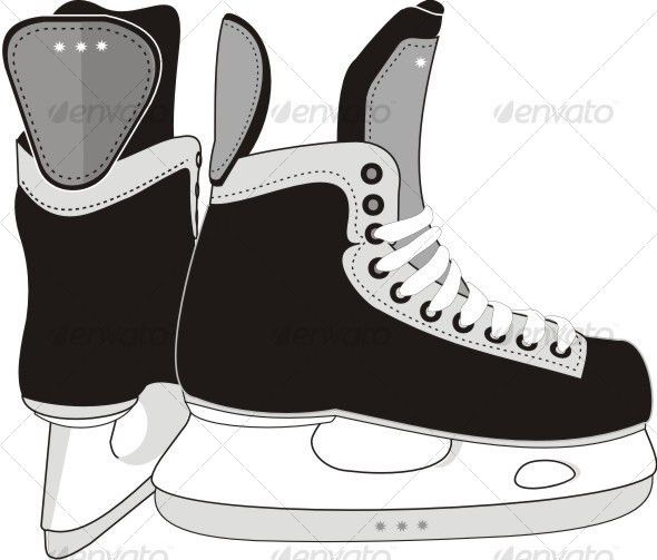 hockey skate template free printable - Google Search | Art ...