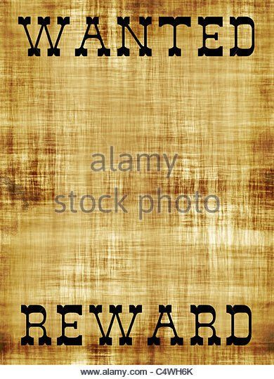 Wanted Poster Stock Photos & Wanted Poster Stock Images - Alamy