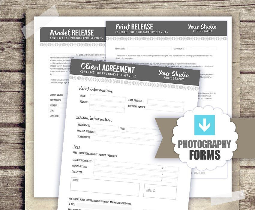 Print Release Form. Fruita Org Sample Photography Copyright ...