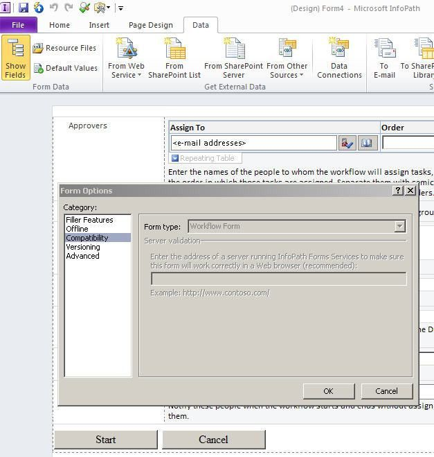 sharepoint designer - How to reconnect InfoPath task form to SPD ...