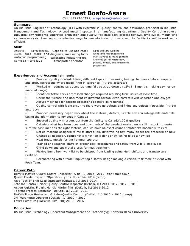click here to download this manufacturing engineer resume template ...