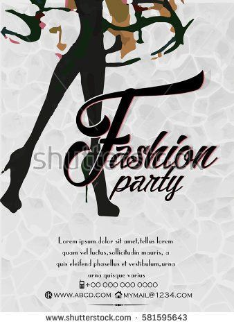 Fashion Show Poster Stock Images, Royalty-Free Images & Vectors ...