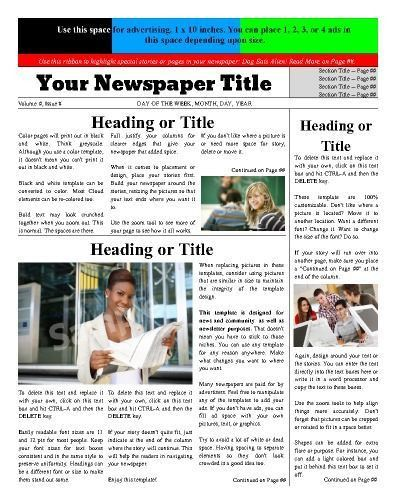 19 best Newspapers Design Ideas images on Pinterest | Free cloud ...